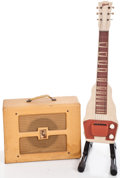 Musical Instruments:Lap Steel Guitars, 1950's Gibson BR-9 Tan Lap Steel Guitar ... (Total: 2 Items)