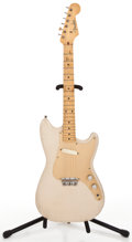 Musical Instruments:Electric Guitars, 1958 Fender Musicmaster Desert Sand Solid Body Electric Guitar#024744...