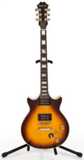Musical Instruments:Electric Guitars, 1980's Epiphone Genesis Sunburst Solid Body Electric Guitar#0100341...