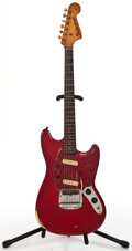 Musical Instruments:Electric Guitars, 1964 Fender Mustang Refinish Solid Body Electric Guitar #L32685...