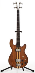 Musical Instruments:Bass Guitars, 1970's Kramer DMD2000 Natural Electric Bass Guitar #20669...