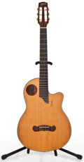 Musical Instruments:Electric Guitars, 2004 Gibson Chet Atkins Natural Classical Guitar #STCE005...