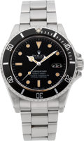 Timepieces:Wristwatch, Rolex Ref. 16800 Steel Submariner, circa 1986. ...