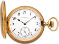 Timepieces:Pocket (post 1900), Vacheron & Constantin 14k Gold Hunters Case, circa 1903. ...