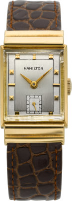 Hamilton 18k Gold Gordon-B Wristwatch