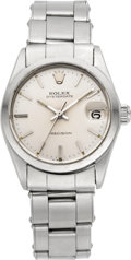 Timepieces:Wristwatch, Rolex Ref. 6466 Three Quarter Size Steel Oysterdate Precision,circa 1963. ...