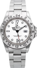 Timepieces:Wristwatch, Rolex Ref. 16570 Explorer II Gent's Wristwatch. ...