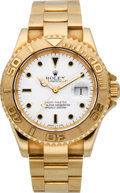 Timepieces:Wristwatch, Rolex Ref. 16628 Gold Yacht-Master Oyster Perpetual, circa 1991. ...