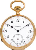 Timepieces:Pocket (post 1900), Stammelbach, Swiss Gold Minute Repeater, circa 1905. ...