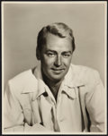 "Movie Posters:Action, Alan Ladd (Paramount, 1940s). Autographed Portrait Photo (11"" X14""). Action.. ..."