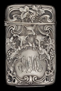Silver Smalls:Match Safes, A WATROUS SILVER AND SILVER GILT MATCH SAFE . Watrous Mfg. Co.,Wallingford, Connecticut, circa 1900 . Marks: (W in circle),...