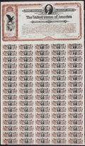 Miscellaneous:Other, $20 Spanish-American War 3% Coupon Bond of 1898 Hessler X188G.. ...