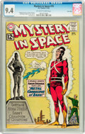 Silver Age (1956-1969):Science Fiction, Mystery in Space #79 Twin Cities pedigree (DC, 1962) CGC NM 9.4Off-white to white pages....