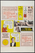 "Movie Posters:Sexploitation, Goldilocks and the Three Bares (Dore Productions, 1963). One Sheet(27"" X 41""). Sexploitation.. ..."
