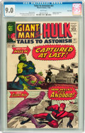 Silver Age (1956-1969):Superhero, Tales to Astonish #61 Twin Cities pedigree (Marvel, 1964) CGC VF/NM 9.0 White pages....