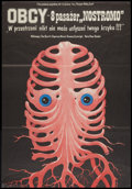 """Movie Posters:Science Fiction, Alien (20th Century Fox, 1979). Polish One Sheet (26"""" X 37.5""""). Science Fiction.. ..."""