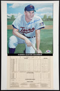 Baseball Collectibles:Others, Harmon Killebrew Signed Oversized Print....