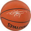 """Basketball Collectibles:Balls, Kobe Bryant Signed Leather """"Spalding"""" Game Basketball. ..."""