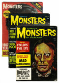 Magazines:Horror, Famous Monsters of Filmland Silver Age Group (Warren, 1960-65) Condition: Average GD/VG.... (Total: 14 Comic Books)