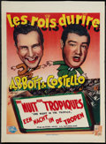 """Movie Posters:Comedy, One Night in the Tropics (Universal International, Late 1940s). First Post-War Belgian (14.5"""" X 19.75""""). Comedy.. ..."""