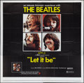 "Movie Posters:Rock and Roll, Let It Be (United Artists, 1970). Six Sheet (81"" X 81""). Rock and Roll.. ..."
