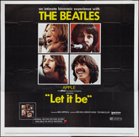 "Let It Be (United Artists, 1970). Six Sheet (81"" X 81""). Rock and Roll"