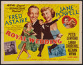 "Movie Posters:Musical, Royal Wedding (MGM, 1951). Half Sheet (22"" X 28"") Style A. Musical.. ..."