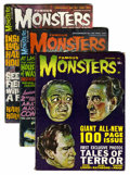 Magazines:Horror, Famous Monsters of Filmland Silver Age Group (Warren, 1962-68) Condition: VG+.... (Total: 13 Comic Books)