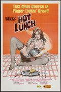 "Movie Posters:Adult, Hot Lunch (Essex, 1978). One Sheet (25"" X 38""). Adult.. ..."
