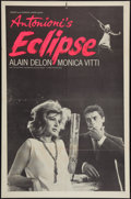 "Movie Posters:Drama, The Eclipse (Times Films, 1962). One Sheet (27"" X 41""). Drama.. ..."