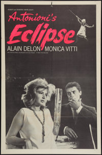 """The Eclipse (Times Films, 1962). One Sheet (27"""" X 41""""). Drama"""