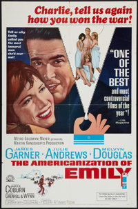 "The Americanization of Emily and Other Lot (MGM, 1964). One Sheets (2) (27"" X 41""). Comedy. ... (Total: 2 Item..."