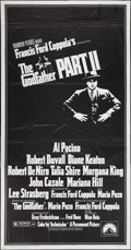 "Movie Posters:Crime, The Godfather Part II (Paramount, 1974). Three Sheet (41"" X 81"").Crime.. ..."
