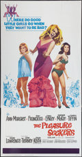 "Movie Posters:Comedy, The Pleasure Seekers (20th Century Fox, 1965). Three Sheet (41"" X81""). Comedy.. ..."