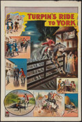 "Movie Posters:Adventure, Turpin's Ride to York (Stafford & Co., 1900's). British TheatreStock Poster (20"" X 30""). Adventure.. ..."
