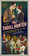 "Movie Posters:Adventure, The Thrill Hunter (Columbia, 1926). Three Sheet (41"" X 81"").Adventure.. ..."