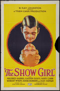 """Movie Posters:Drama, The Show Girl (Rayart Pictures, 1928). One Sheet (27"""" X 41""""). Drama.. ..."""