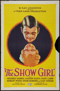 "The Show Girl (Rayart Pictures, 1928). One Sheet (27"" X 41""). Drama"
