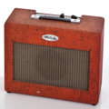 Musical Instruments:Amplifiers, PA, & Effects, 1960's Melody Vintage Red Guitar Amplifier...