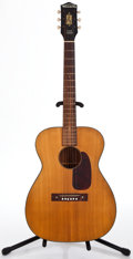 Musical Instruments:Acoustic Guitars, 1950's Harmony H162 Natural Acoustic Guitar #F61JS...