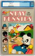 Golden Age (1938-1955):Funny Animal, New Funnies #94 (Dell, 1944) CGC NM+ 9.6 Cream to off-whitepages....