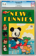 Golden Age (1938-1955):Funny Animal, New Funnies #95 (Dell, 1945) CGC NM 9.4 Cream to off-whitepages....
