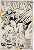 Original Comic Art:Splash Pages, John Buscema and Mike Esposito Thor #221 Hercules vs. ThorSplash Page 26 Original Art (Marvel, 1974)....
