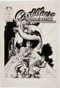 Original Comic Art:Covers, Mark Schultz Cadillacs and Dinosaurs #4 Cover Original Art(Epic/Marvel, 1991)....