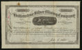 Miscellaneous:Other, Chalk Creek Mining District Caffee, CO (location of mines)Brittenstene Silver Mining Company 100 Shares Mar. 31, 1881.. ...