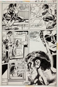 Original Comic Art:Panel Pages, Neal Adams and Dick Giordano The Flash #217 Green Lanternpage 7 Original Art (DC, 1972)....