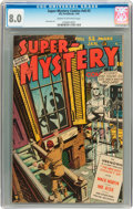 Golden Age (1938-1955):Horror, Super-Mystery Comics V8#3 (Ace, 1949) CGC VF 8.0 Cream to off-whitepages....