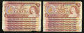 Canadian Currency: , $2 1974 Fourteen Examples.. ... (Total: 14 notes)