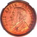 South Africa, South Africa: Republic Proof Penny 1892,...