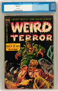 Golden Age (1938-1955):Horror, Weird Terror #11 (Comic Media, 1954) CGC FN 6.0 Off-white pages....
